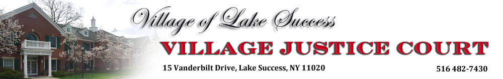 Village of Lake Success Justice Court